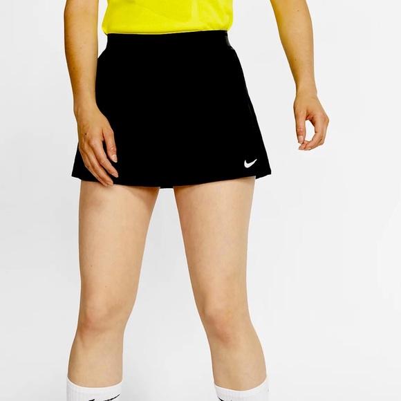 Nike Black S Dri Fit Black Tennis Skirt